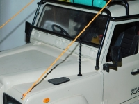 R.A Products 1:10 Antenne Defender D90 D110 Scx10 und co Federstahl