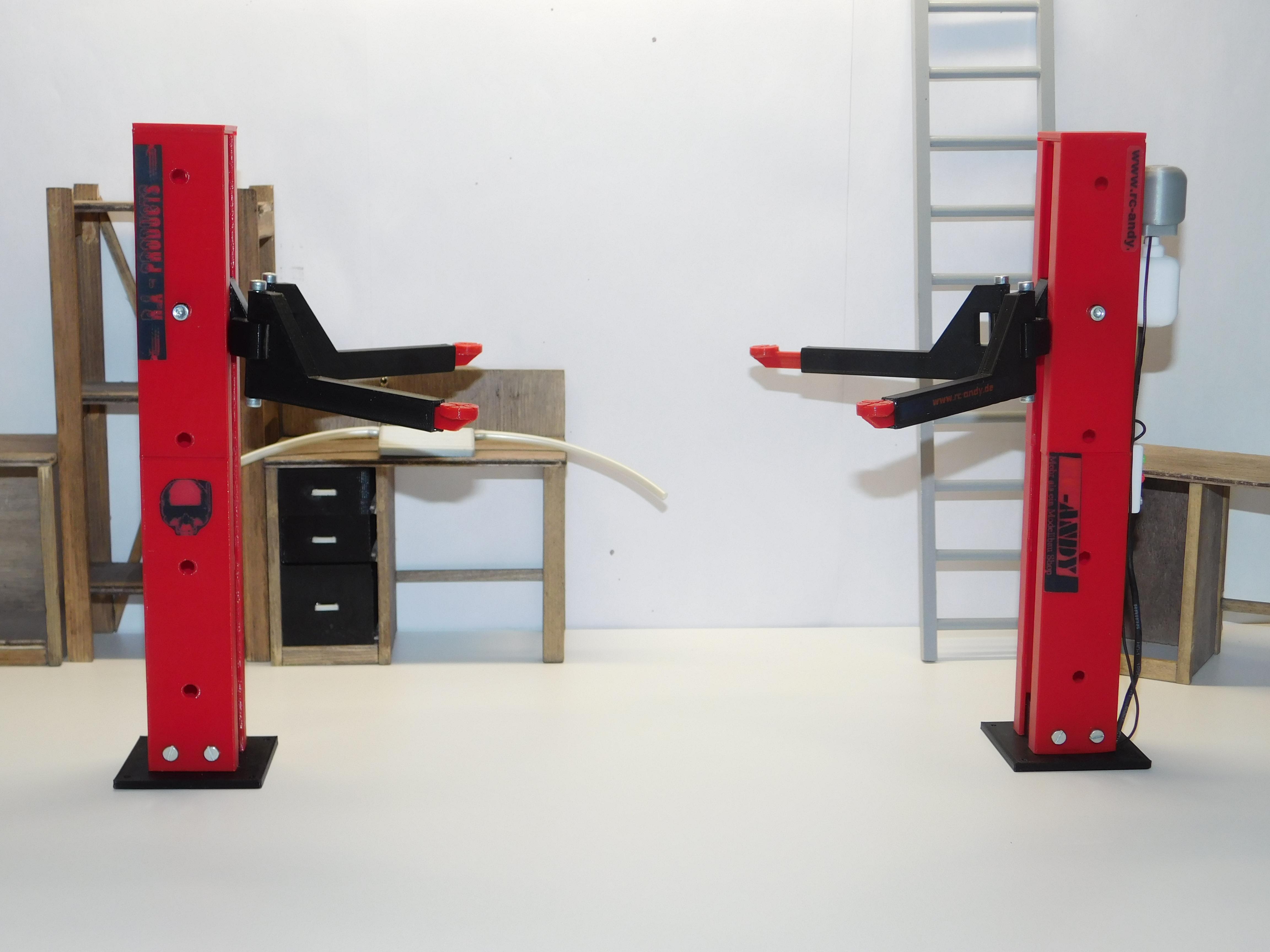 r a products 2 s ulen hebeb hne 1 10 mechanisch rc andy shop. Black Bedroom Furniture Sets. Home Design Ideas