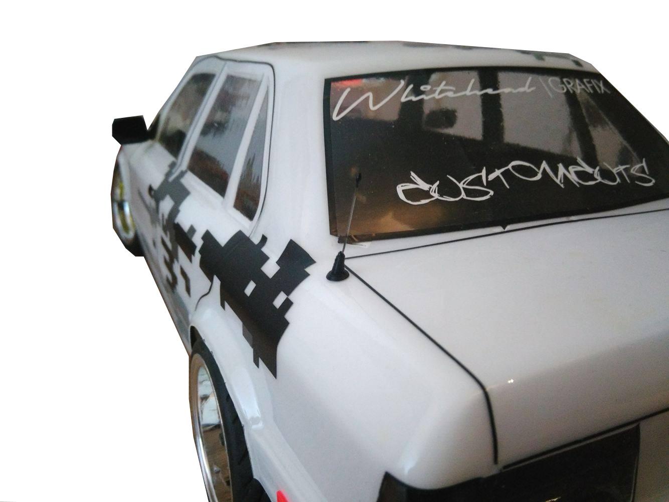 R.A Products 1:10 Autoantenne Heck Drift Rc Car Federstahldraht - RC ...