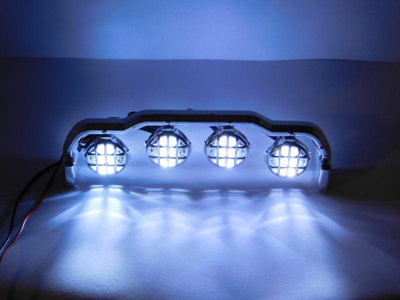R.A Products Dachbügel mit 4 Leds 1:10 Offroad
