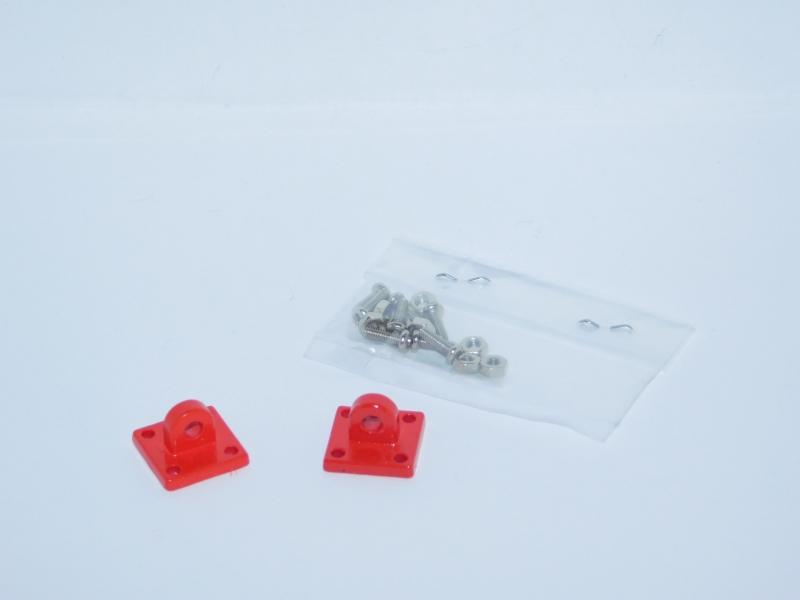 R.A Products Heavy Duty  Halteösen Metall Rot 1 Paar 1:10