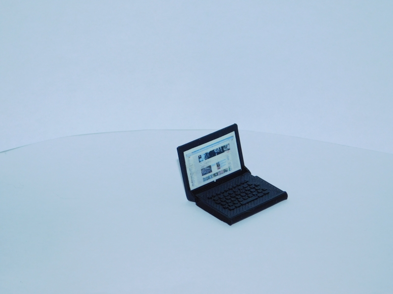 R.A Products Scale Laptop 1:10 Klappbar