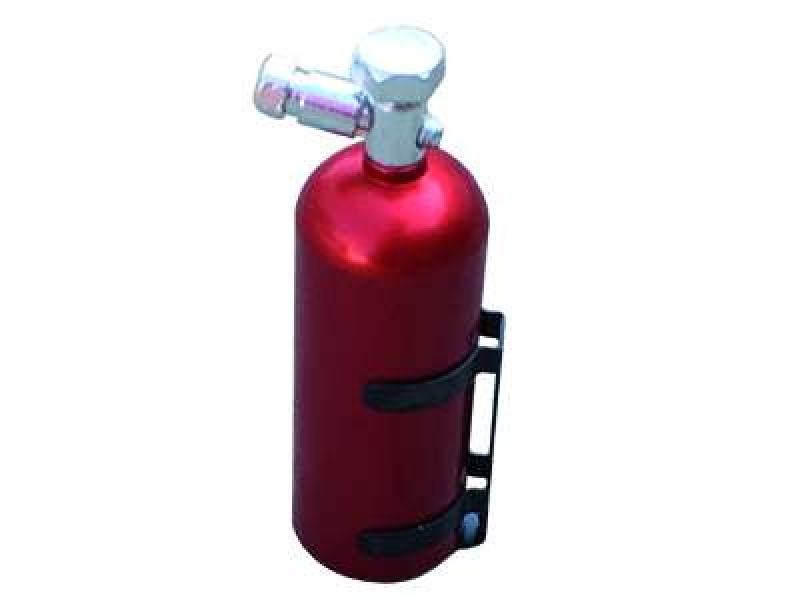 Nosflasche 1:10 Gasflasche Rot Aluminium mit Halterung Scale  Rc Drift