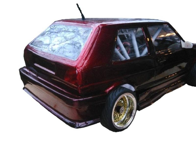 R.A Products 1:10 Autoantenne GTI gewickelt Drift Rc Car Dachantenne