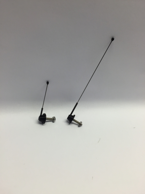 R.A Products Antennen set 7,5cm & 3,5cm 1:14 tamiya Man scania Actros etc