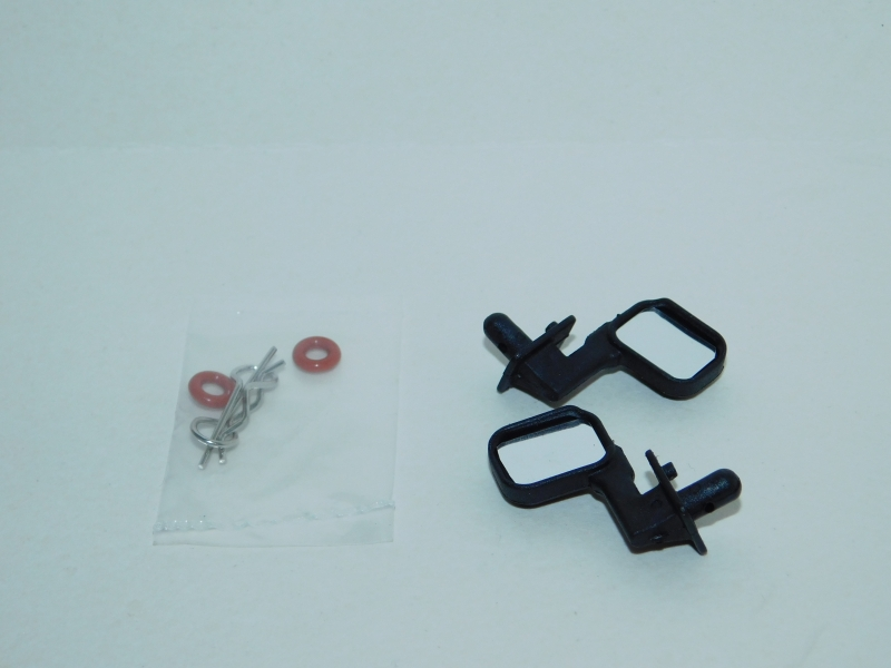 R.A Products 1:10 Außenspiegel Schwarz Paar 1:10