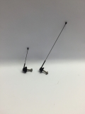 R.A Products Antennenset 7,5cm & 3,5cm 1:14 tamiya Man scania Actros etc