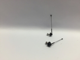 R.A Products Antennen Set Kurz 3.5cm 2stk 1:14 tamiya Man scania Actros etc