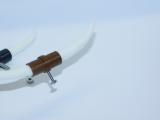 R.A Products Longhorn / Bullhorn 1:14 Schwarz / Kupfer 7cm