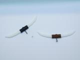 R.A Products Longhorn / Bullhorn 1:14 Schwarz / Kupfer 5,5cm