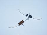 R.A Products Longhorn / Bullhorn 1:10 Schwarz / Kupfer 8,5cm