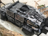 R.A Products Panzertür mit Lucke Traxxas TRX-4 Tactical Unit Karosserie