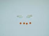 Spiegelblinker / Lollipops für Tamiya Scania Modelle 1:14 mit New R Spiegel
