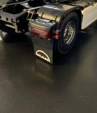 Begrenzungsleuchte / Positionsleuchte V8 Doppel aus Gummi inkl Smd 1 Paar Tamiya Rc Truck